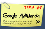 Tipp #2: Google AdWords